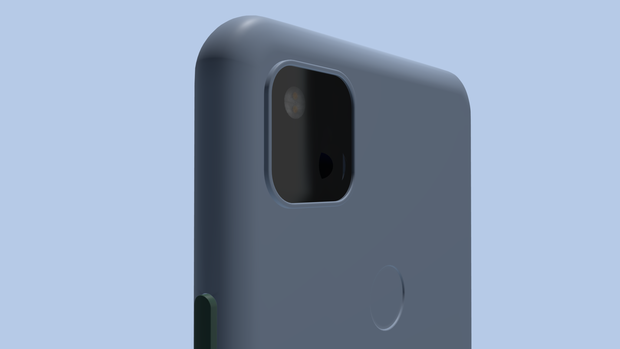 Back view of pixel mockup