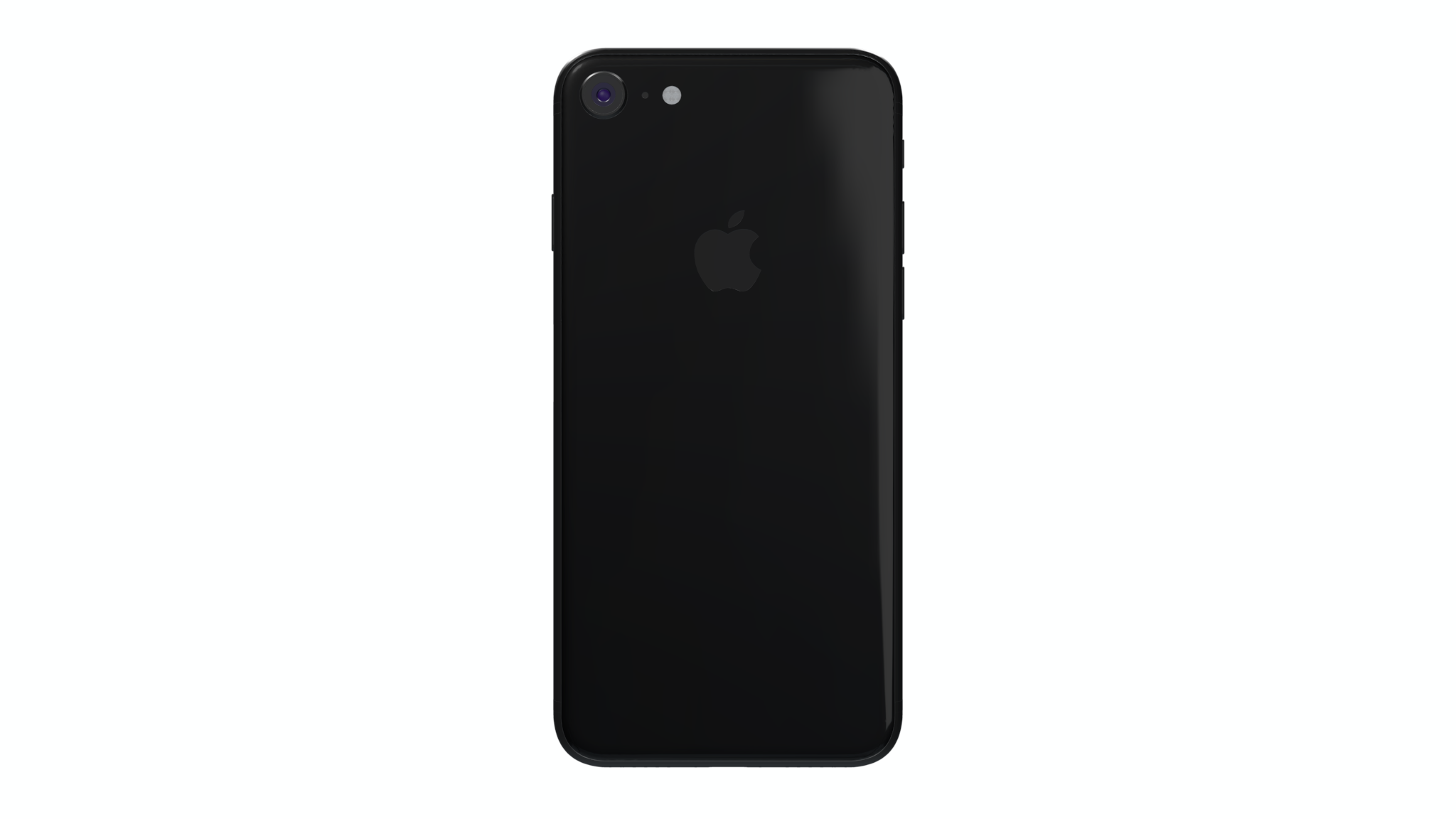 iPhone 8 mockup from back