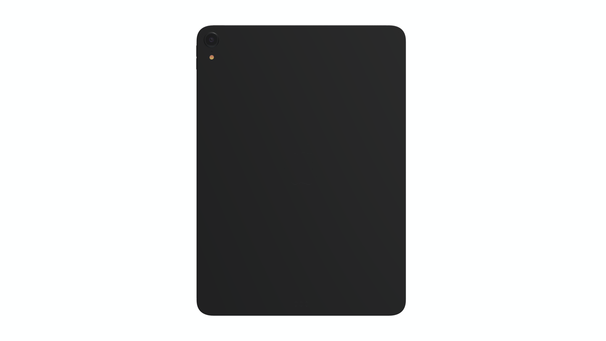 iPad Mockup, back view