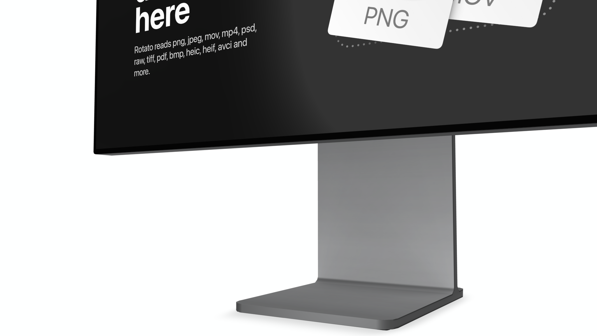Apple Pro Display XDR Mockup