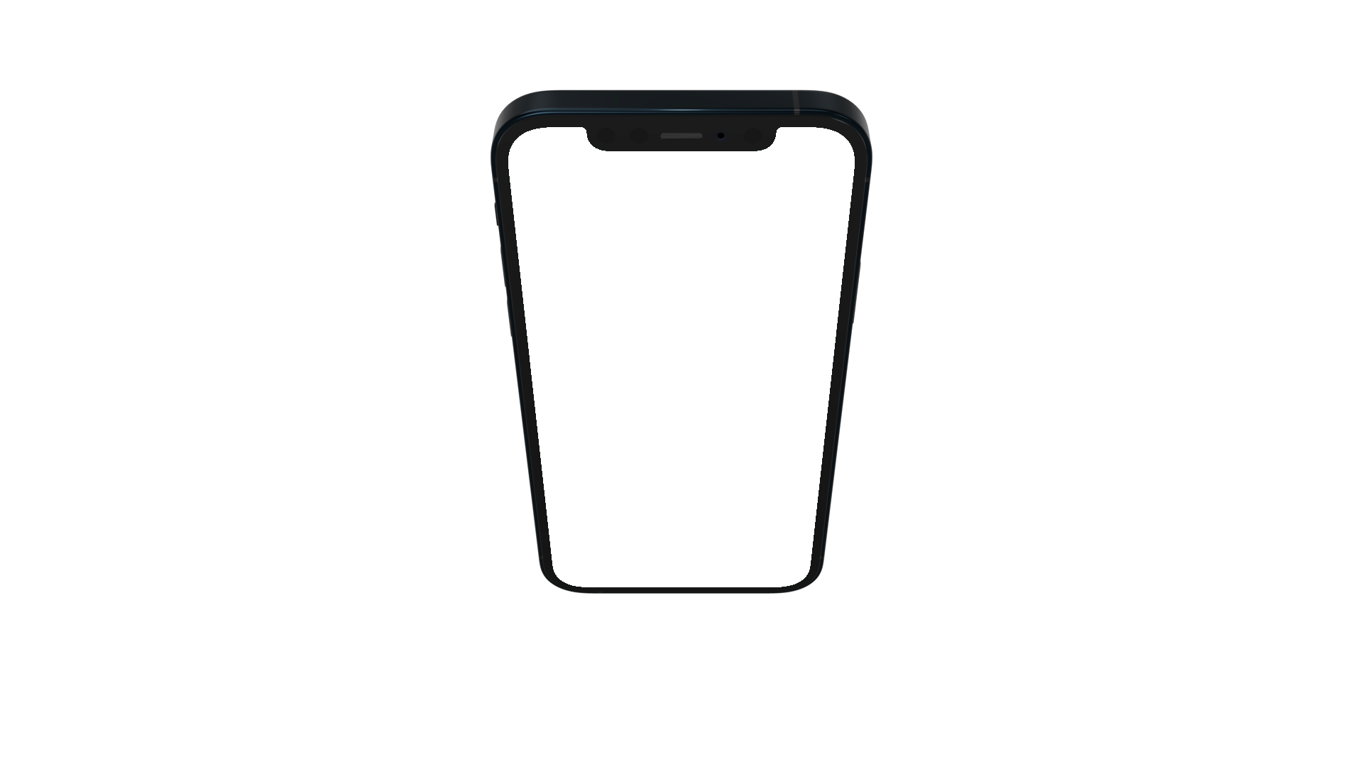 iPhone 12 PNG seen from the top