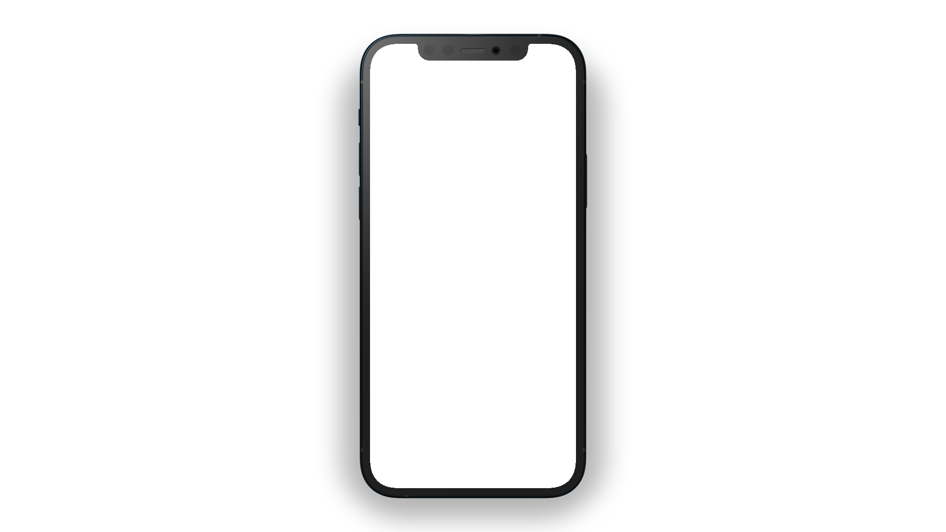 iPhone 12 PNG front view