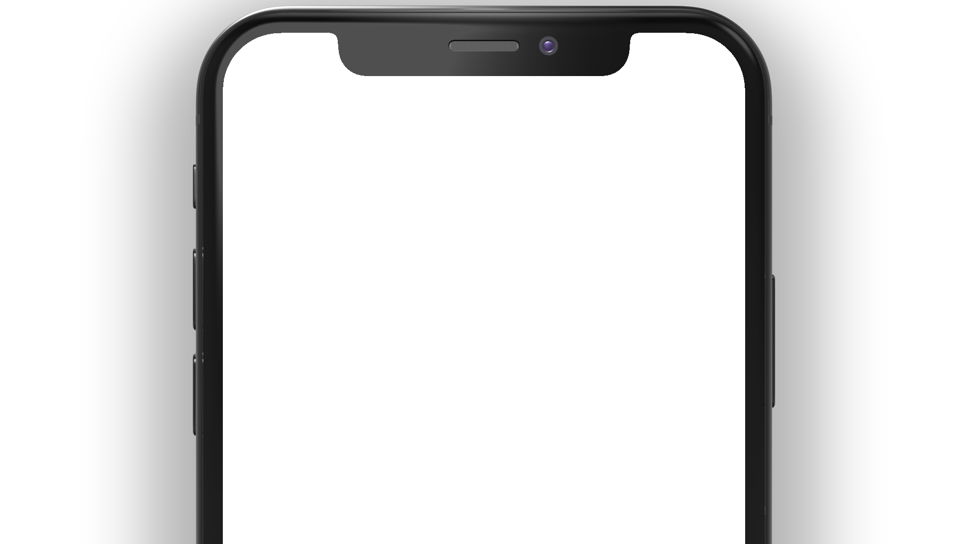 iPhone PNG front view