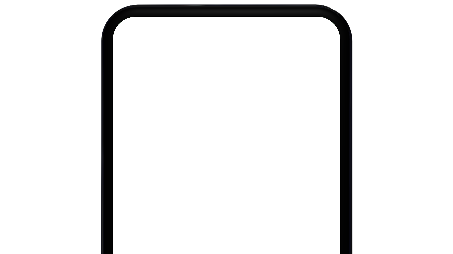 Top part of a generic phone
