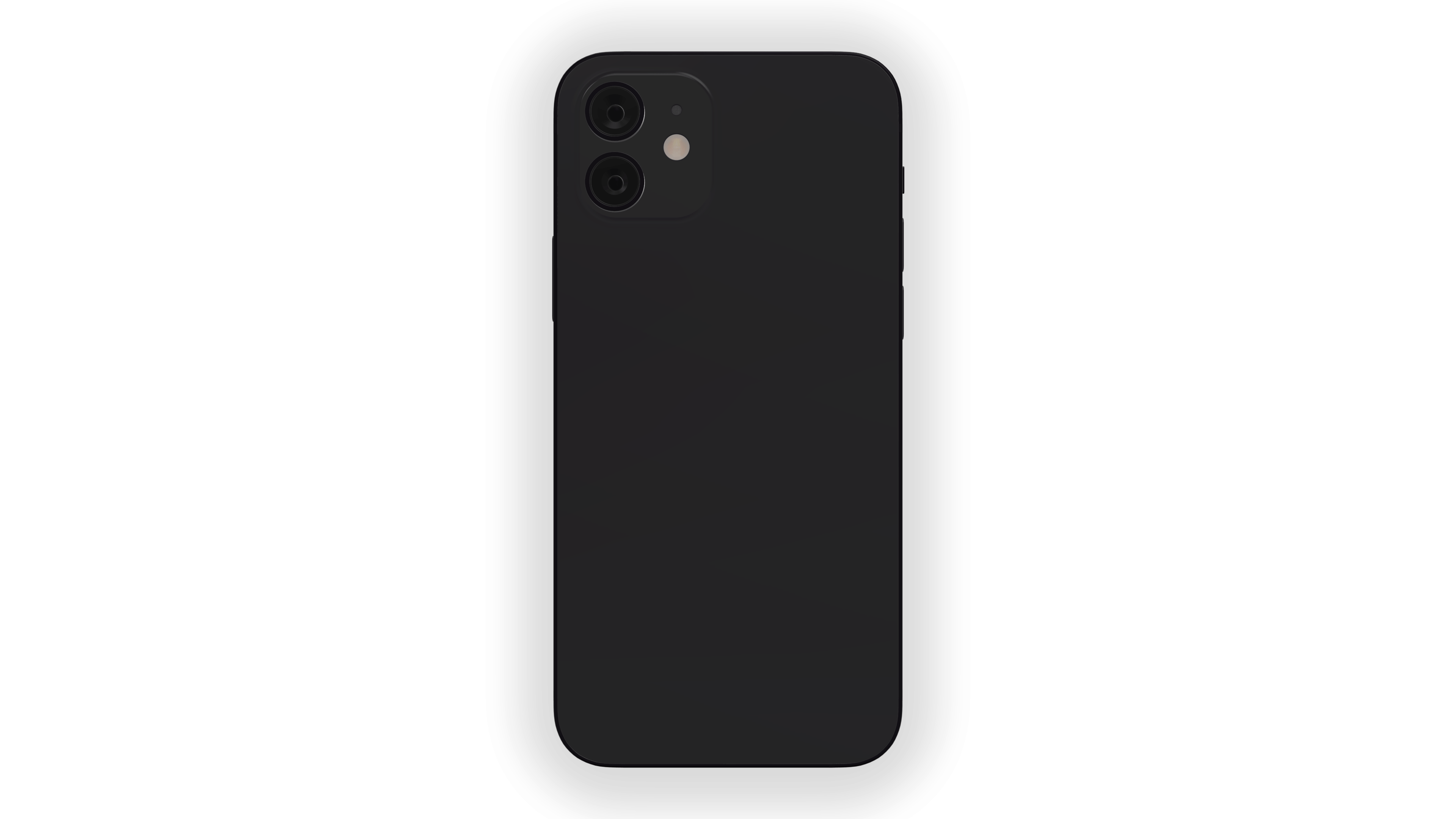 iPhone 12 Official Black Mockup