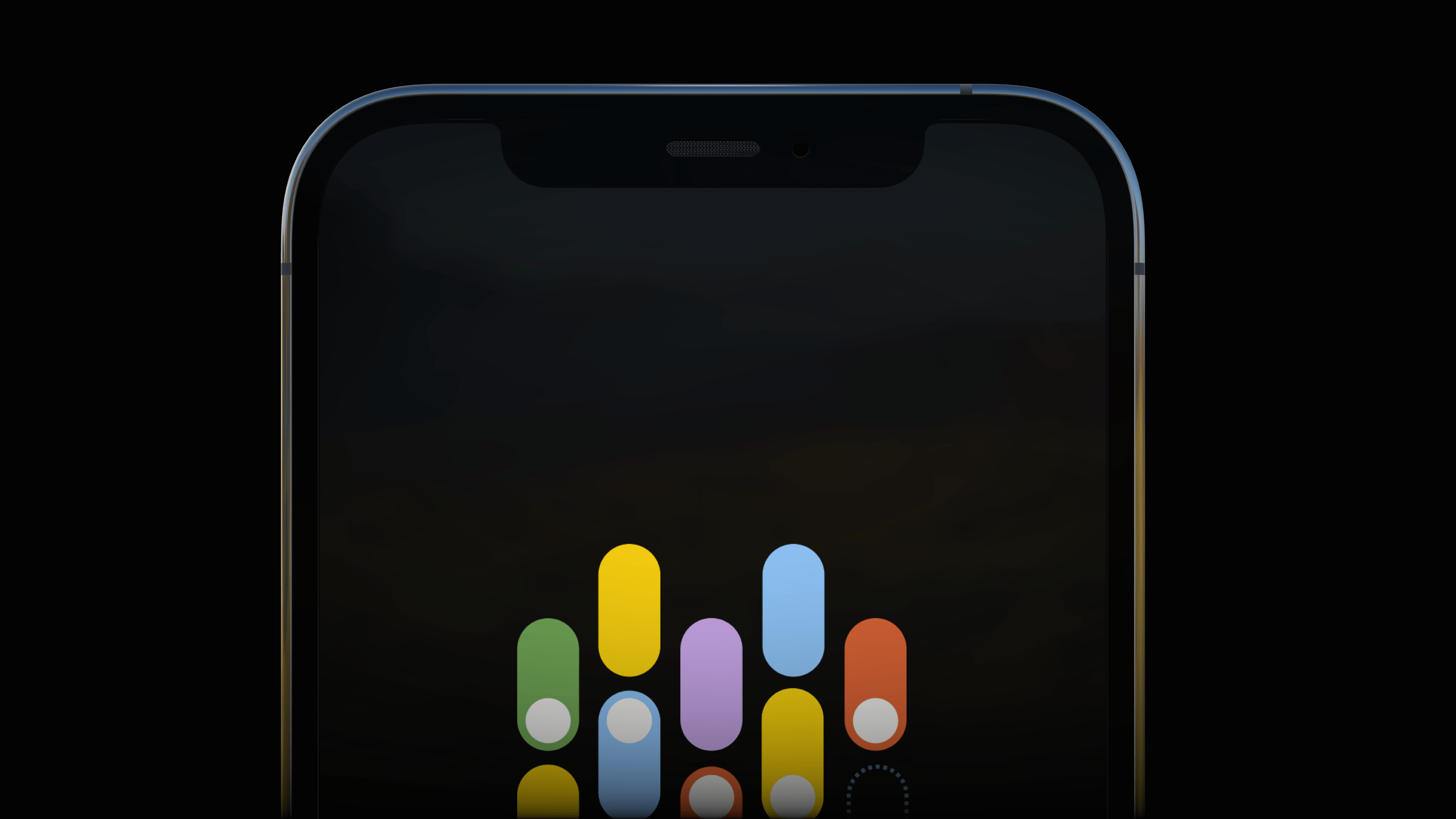 iPhone 12 Pro Silver Sunny Day Reflection Mockup