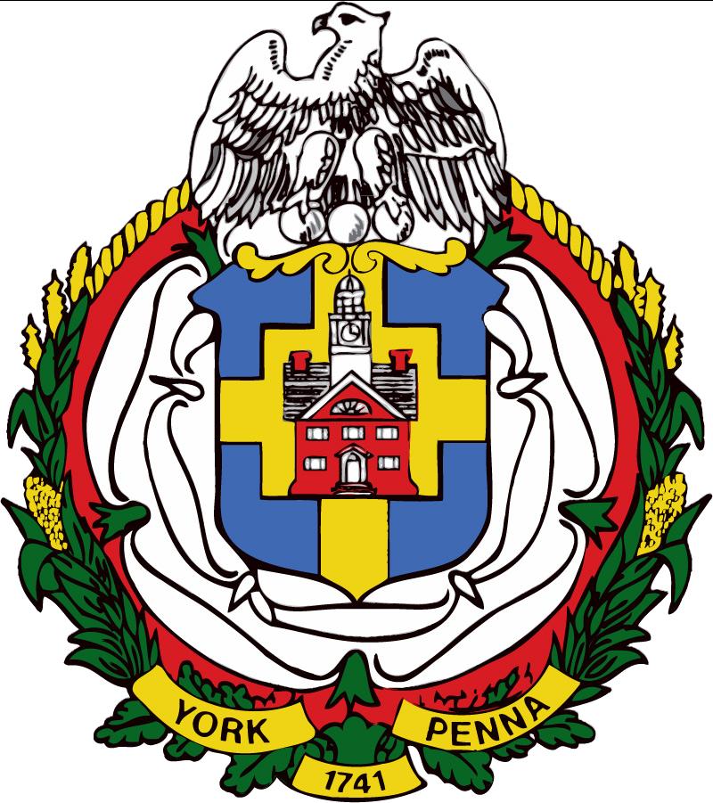 York, PA seal
