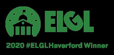 2020 ELGL Haverford Award badge