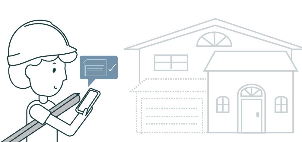 building permit software illustration