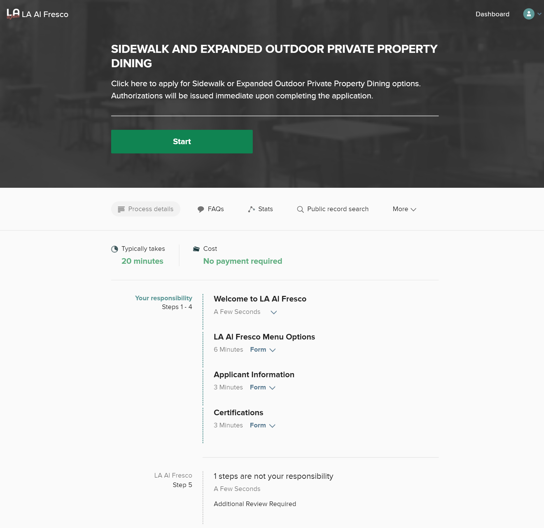 CityGrows process overview screenshot