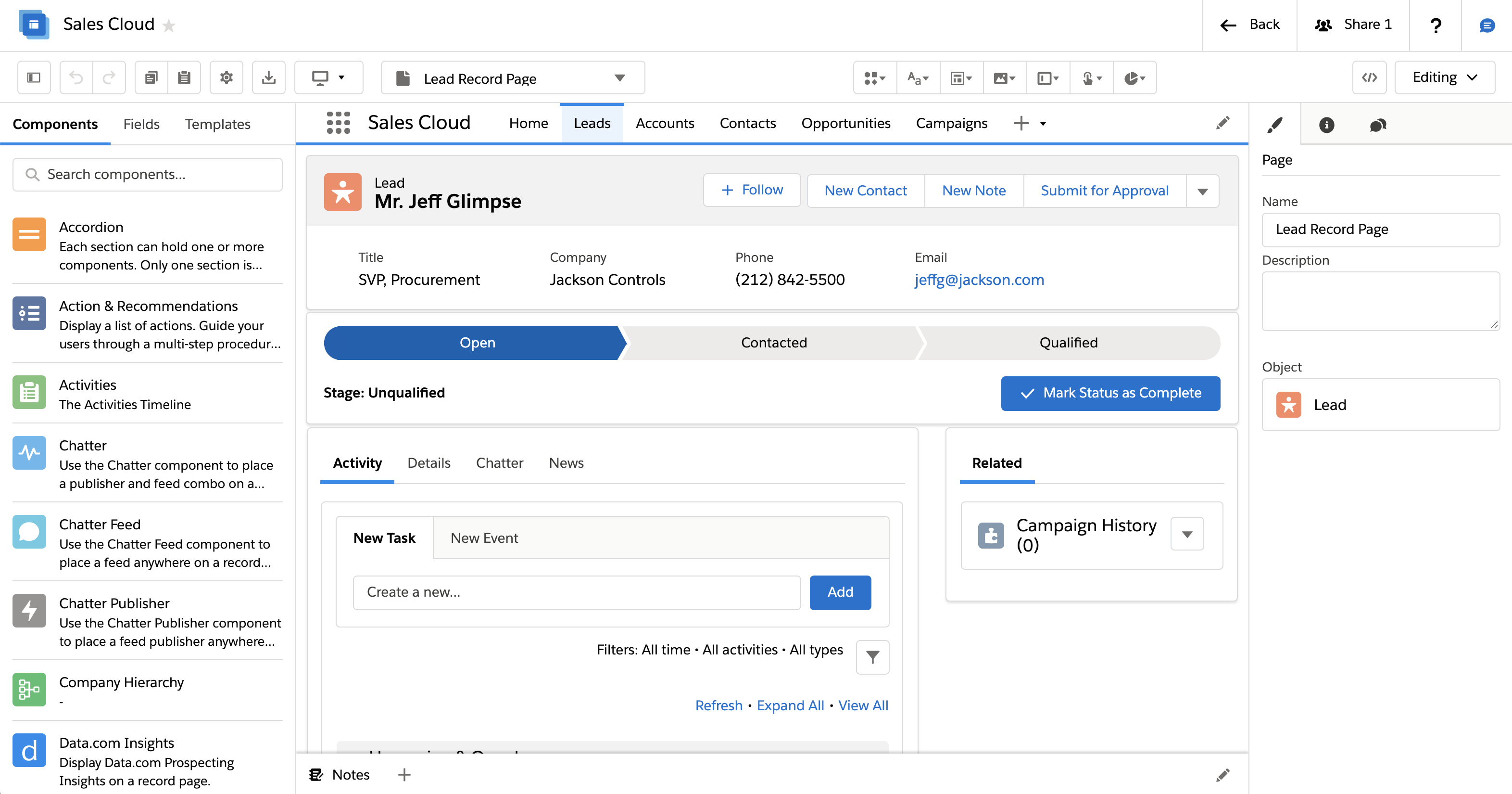 Avonni Creator Design And Prototyping Tool For Salesforce Lightning