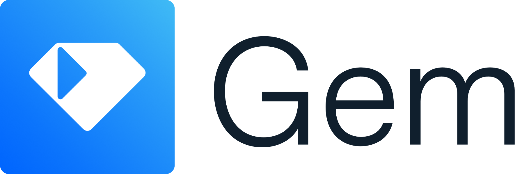 The Gem logo