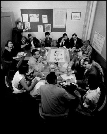 BBDO brainstorm session - late 1950s.