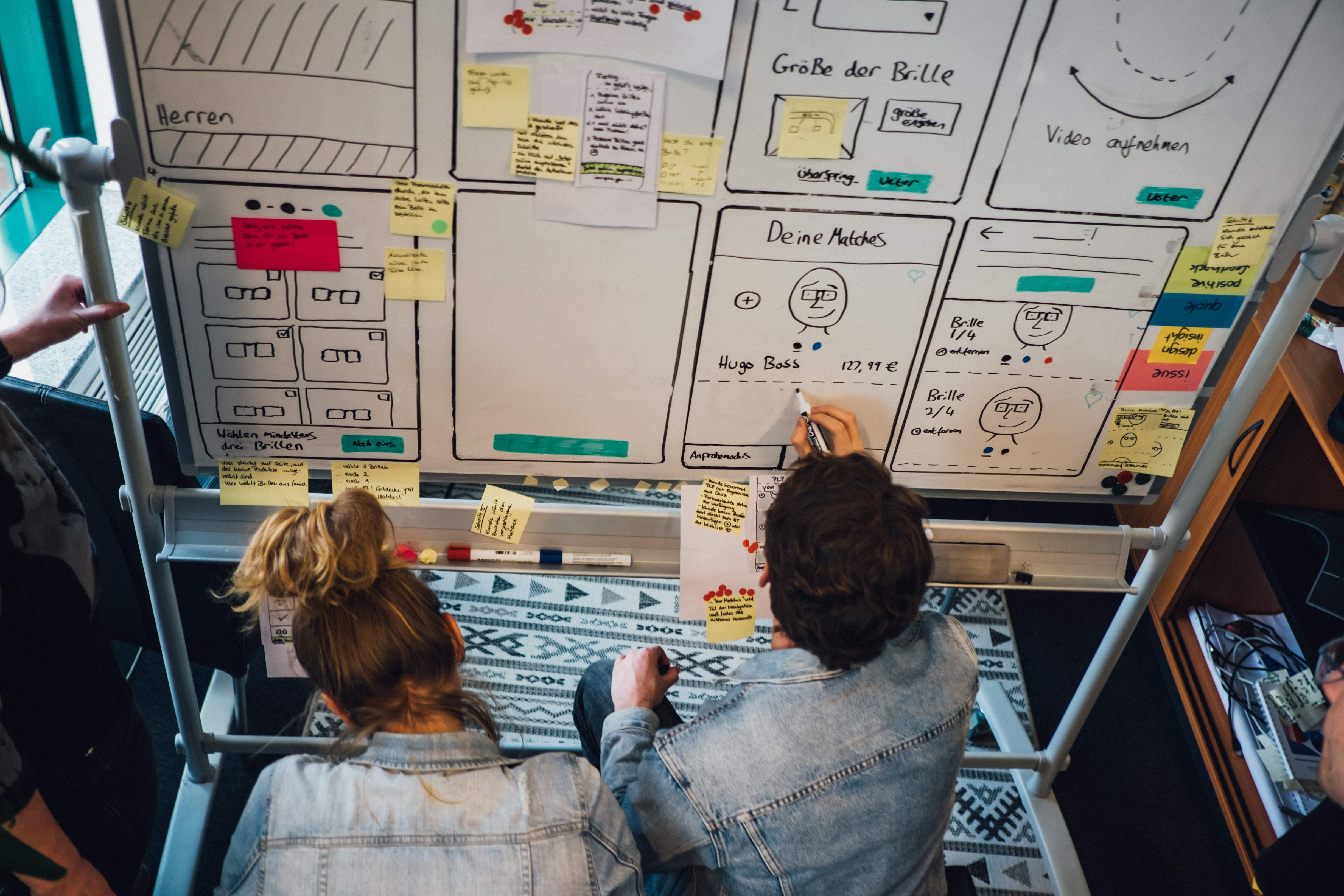 The lean startup cycle with idea, build, launch and insights
