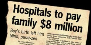 Hospitals to pay family $8 million