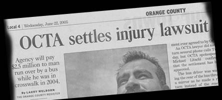 OCTA settles injury lawsuit