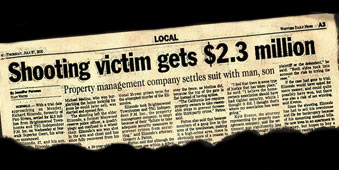Shooting victim gets $2.3 million