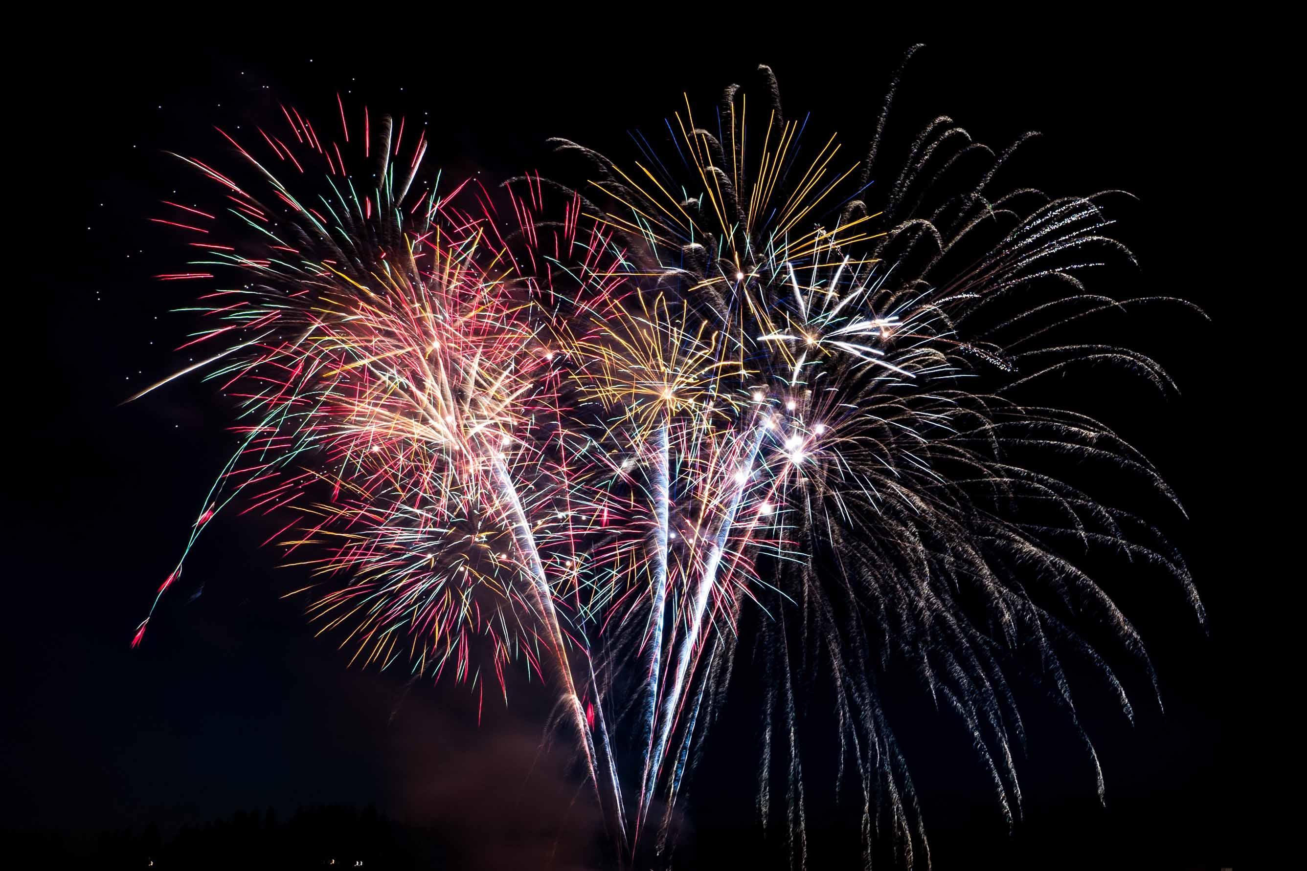 Hochzeit Feuerwerk Tirol
