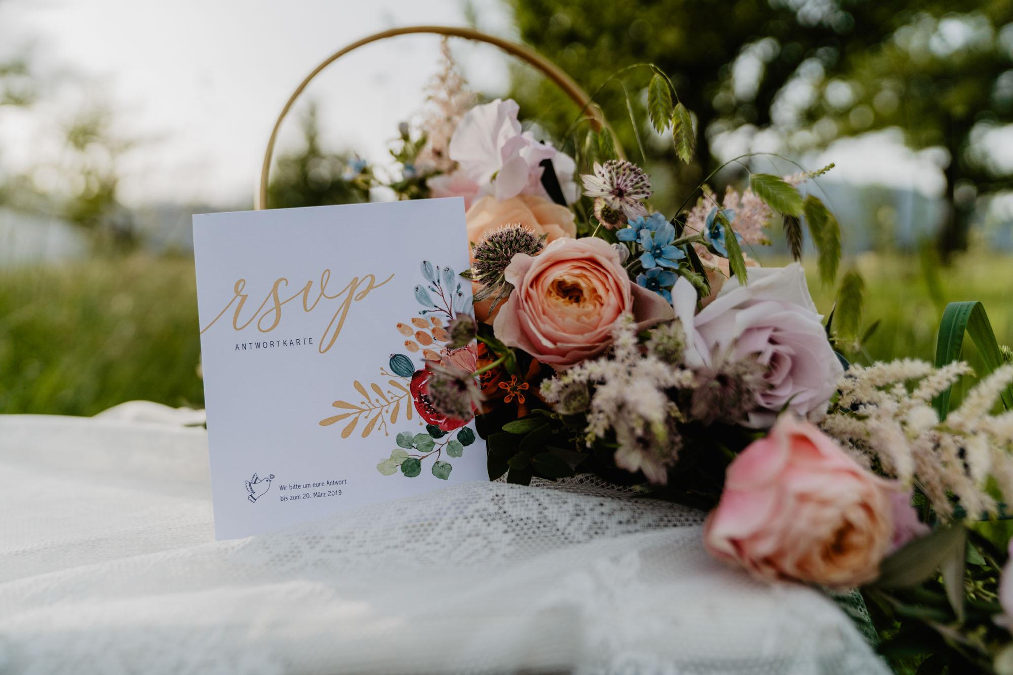 Hochzeitseinladung aus Tirol
