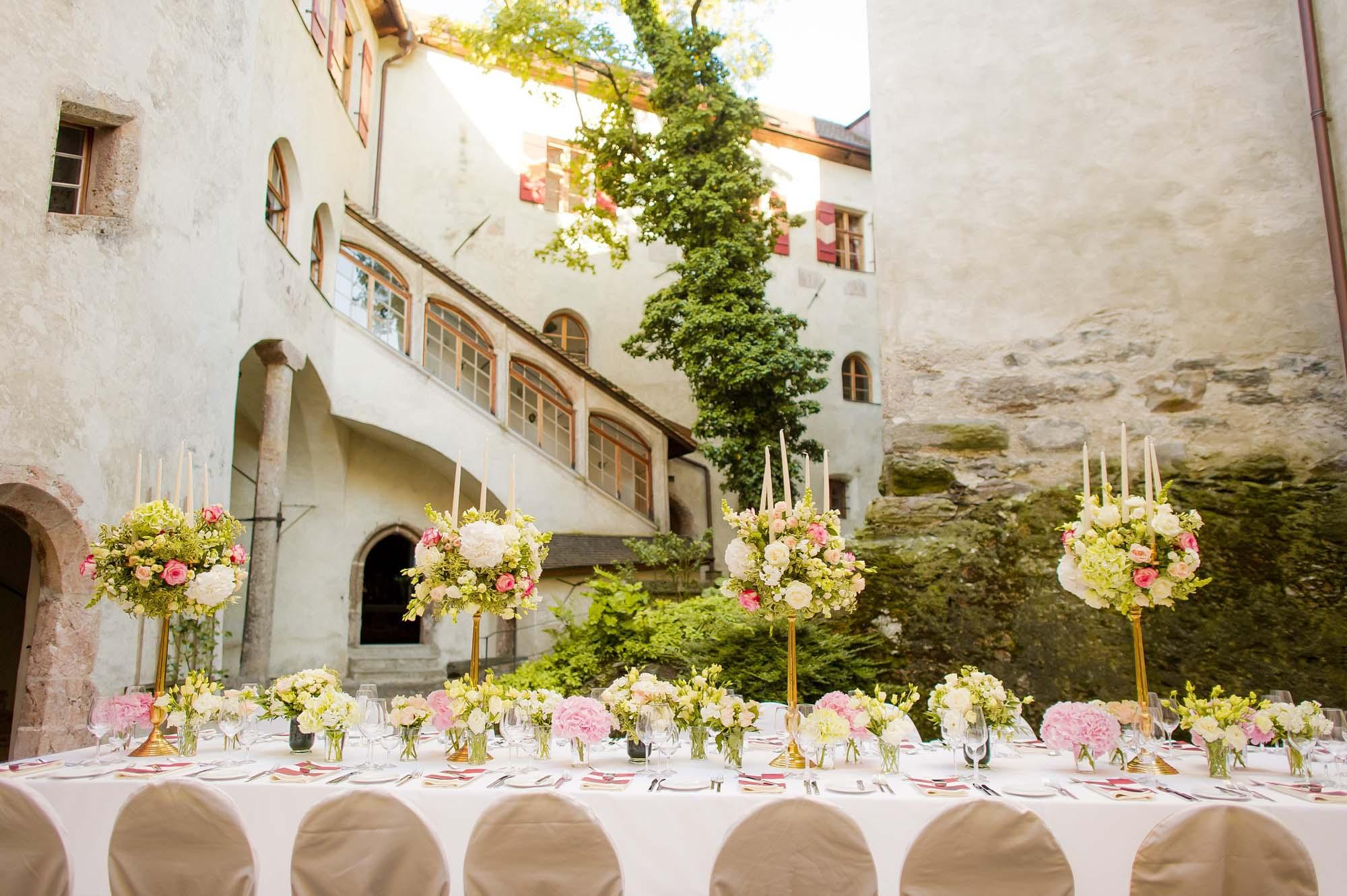 Hochzeitslocations Tirol Schloss Friedberg