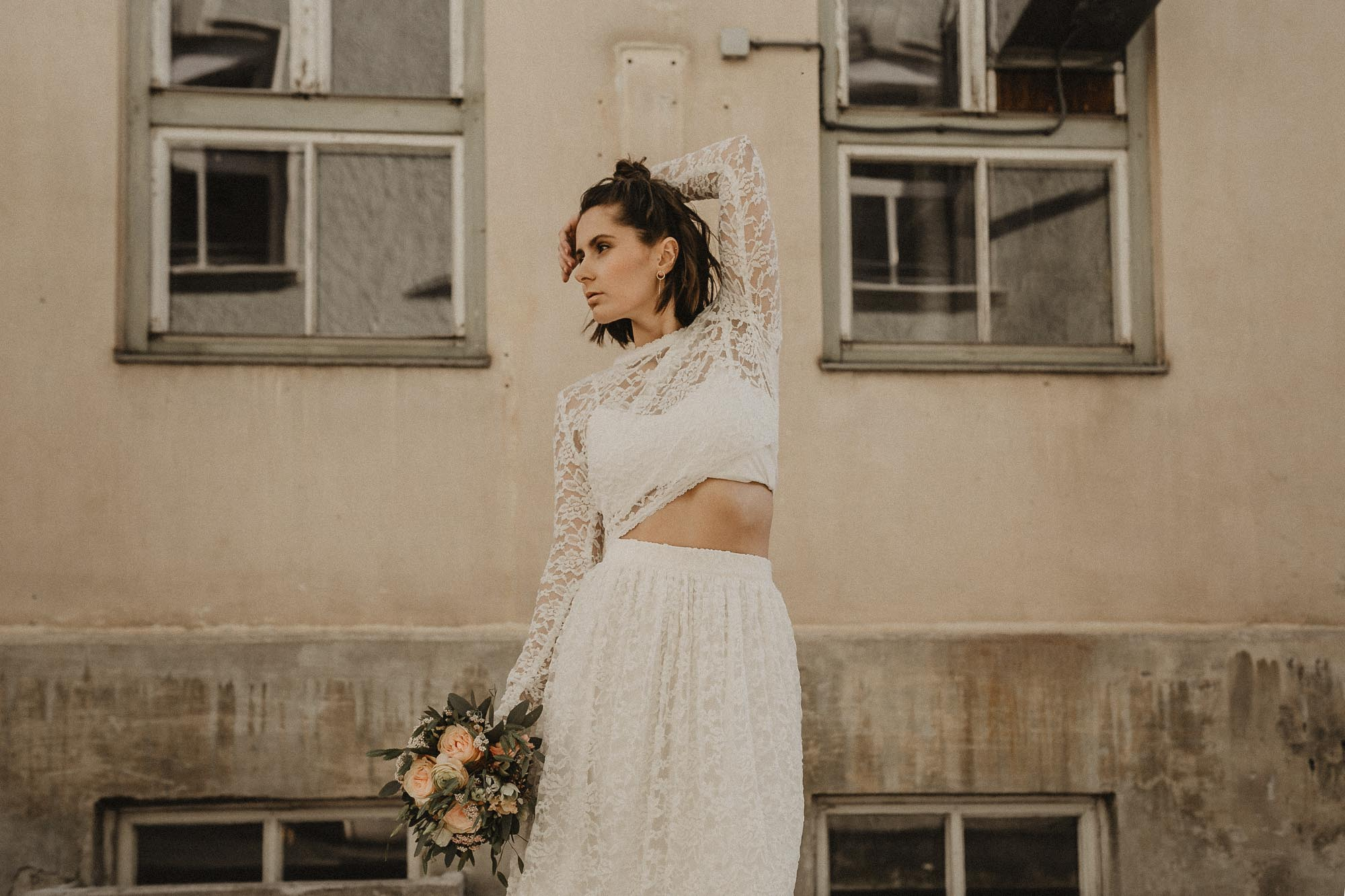 Brautkleid Tirol