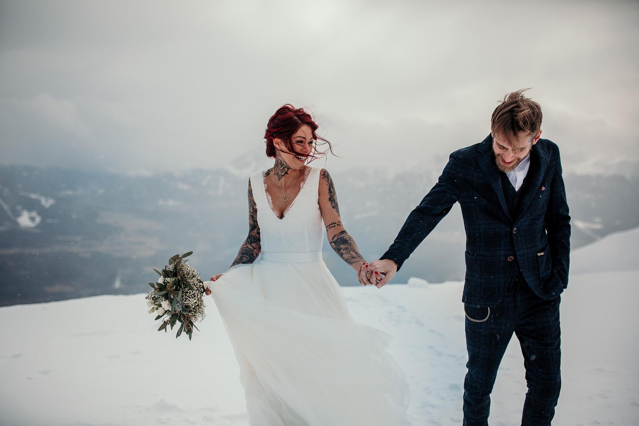 Brautkleider aus Tirol