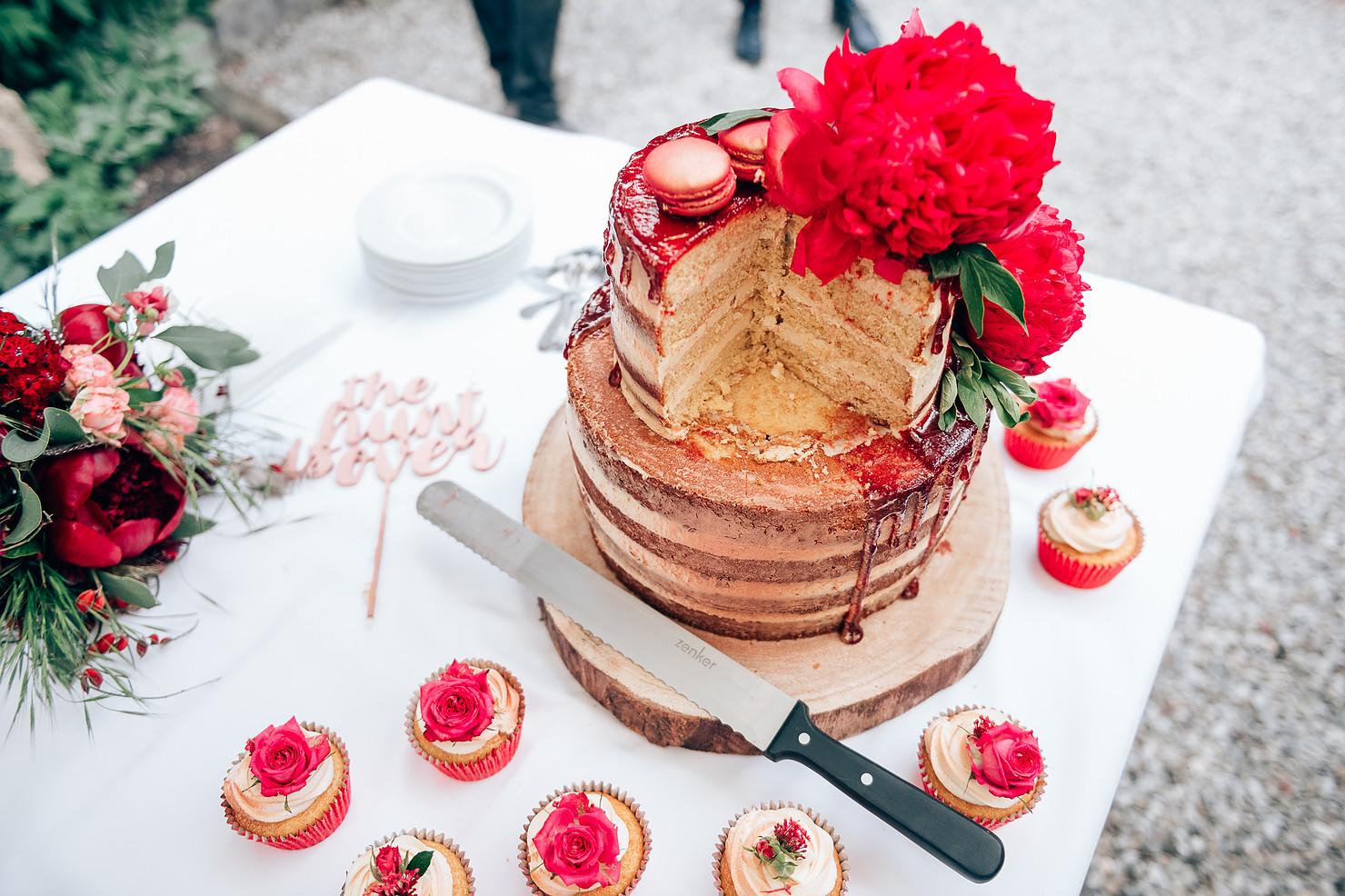 Naked Cake Hochzeit Vorarlberg