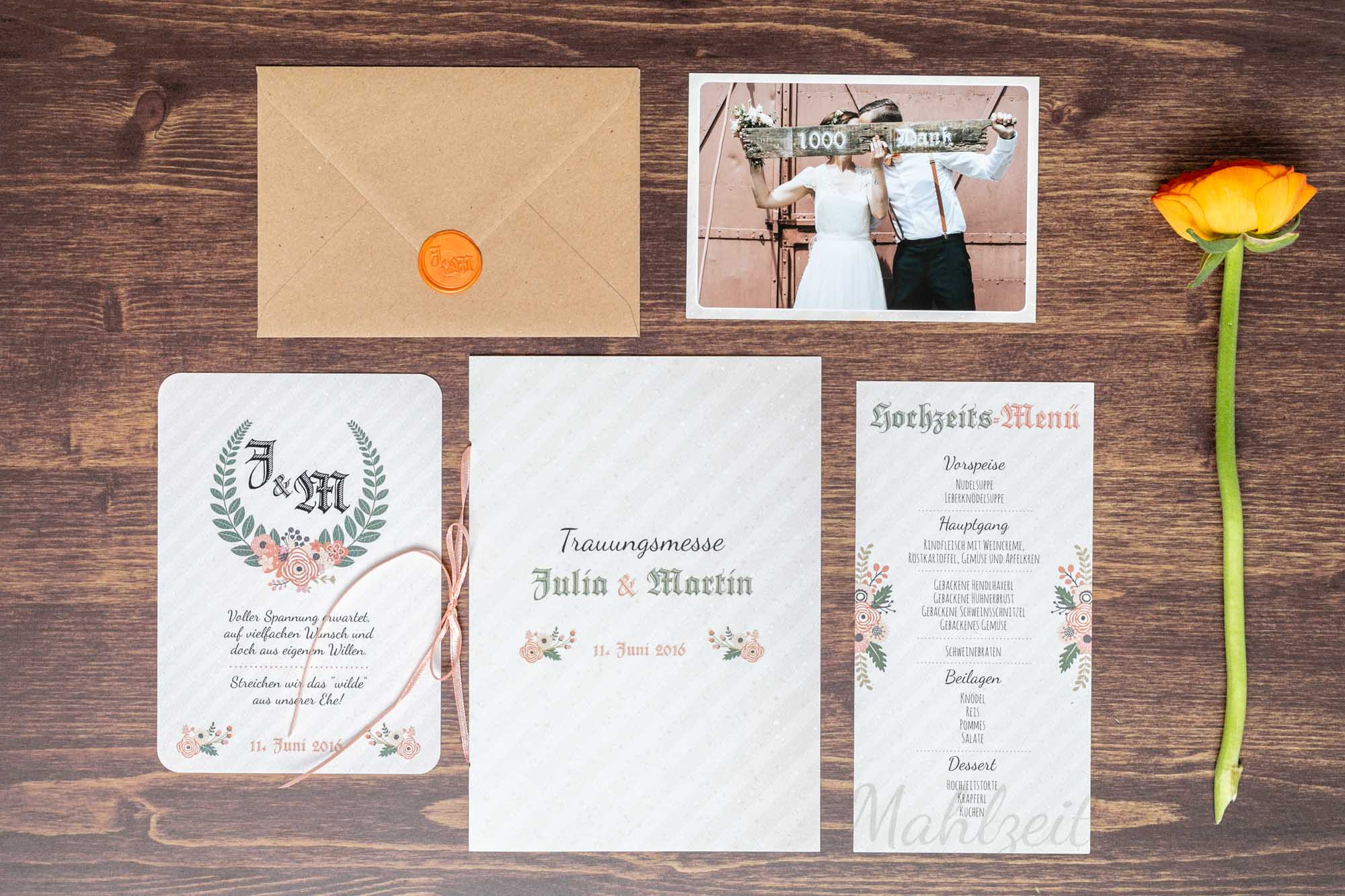 Bloom Wedding | Hochzeitspapeterie