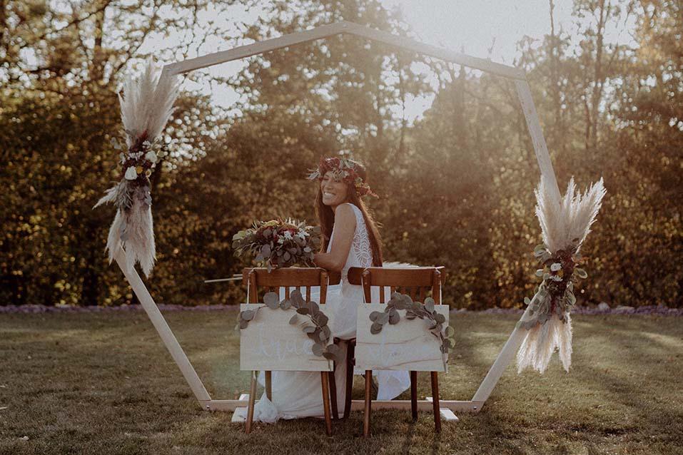 Mach's hübsch Deko-Denk | Hochzeitsdekoration