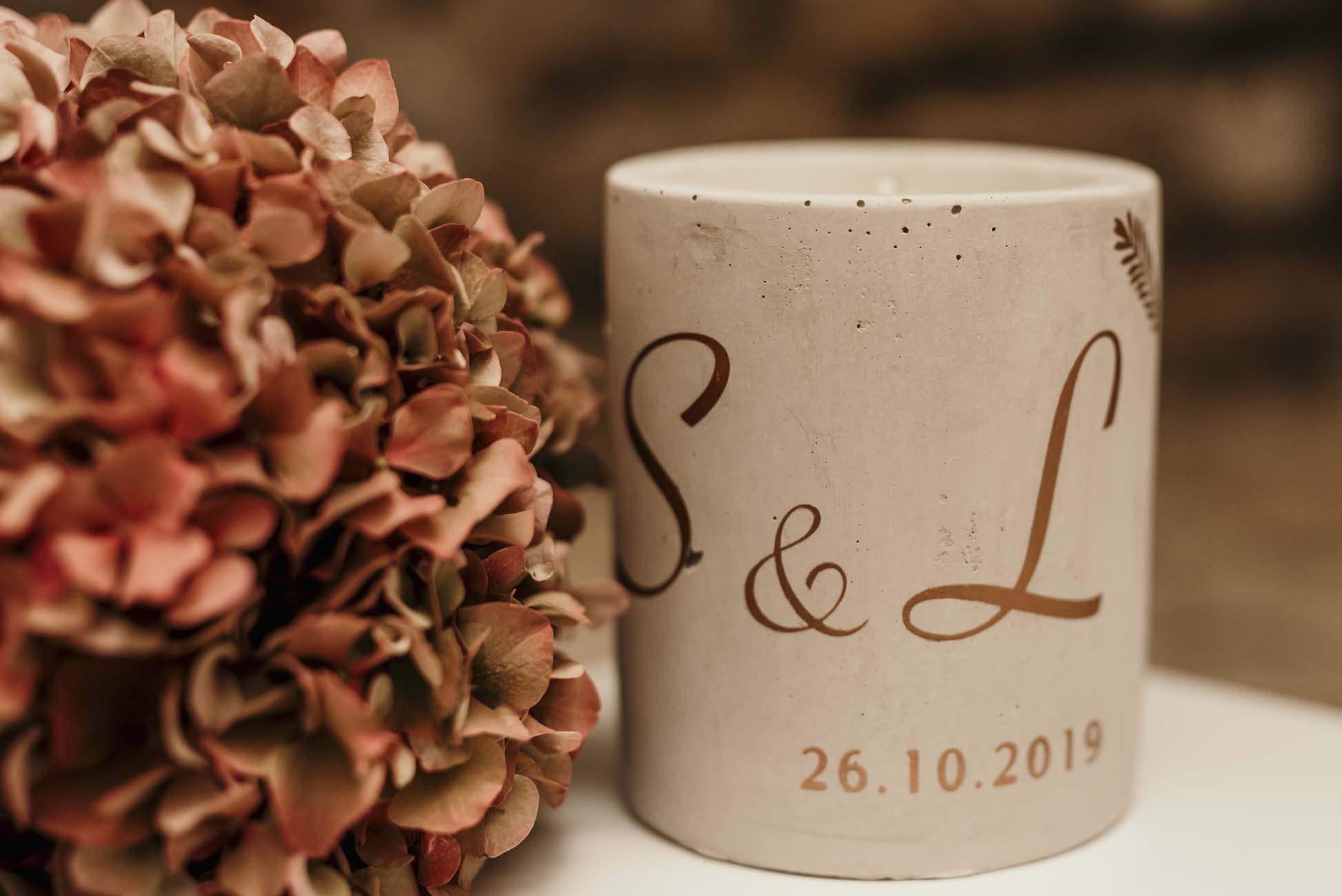 Hochzeitskerzen von LYSIA-F