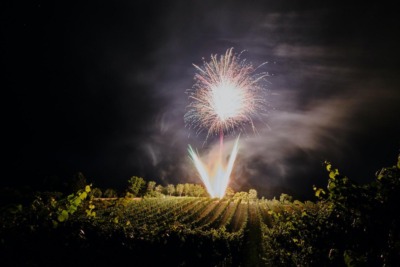 """Hochzeitsfeuerwerk von """"Skyfire"""""""