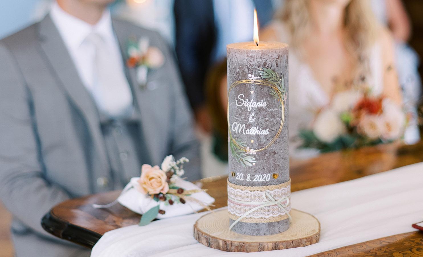 KerzenBauer – Hochzeitskerzen