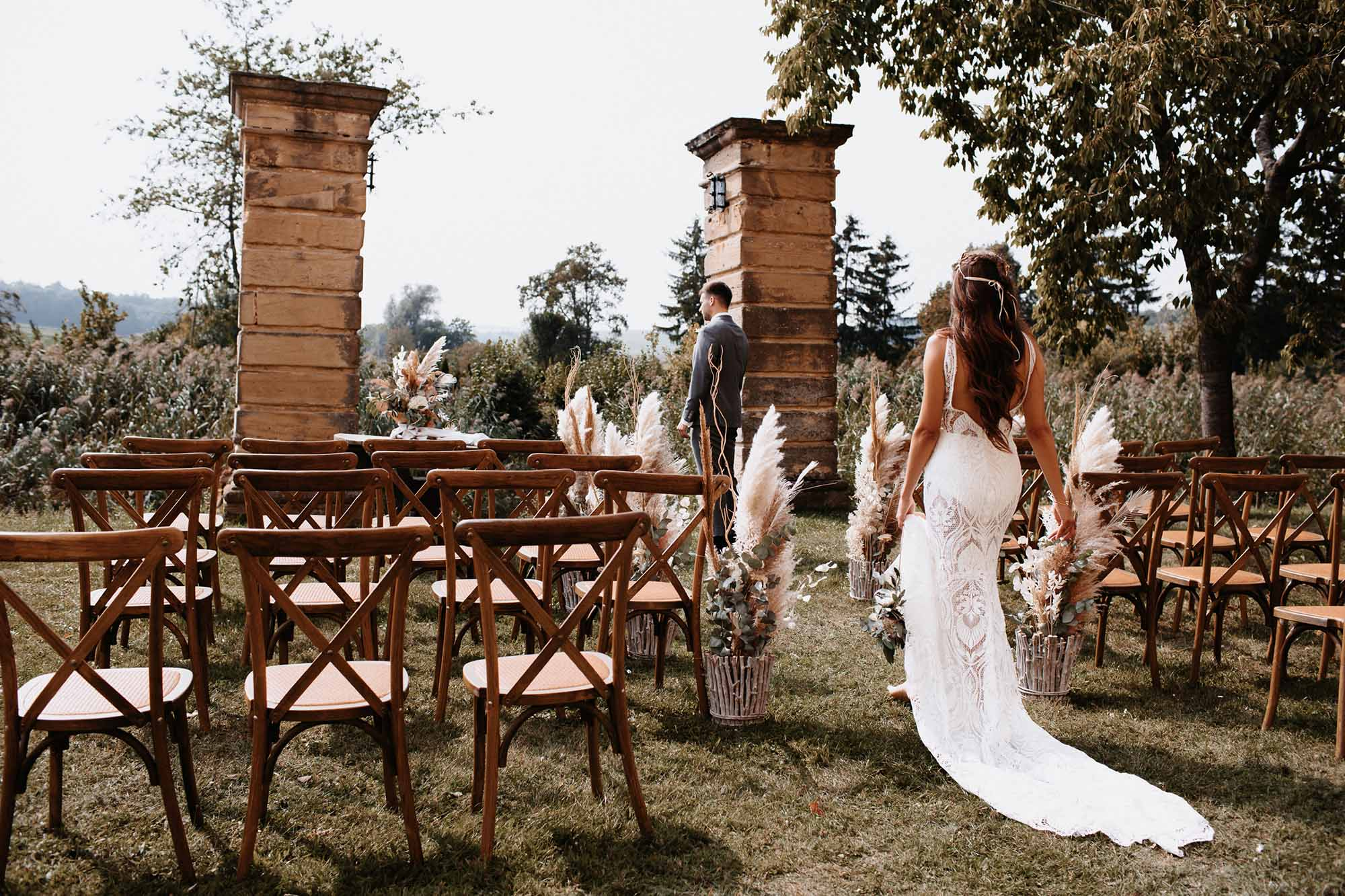 "Boho-Hochzeit im ""Liebesschloss"" Haggenberg"