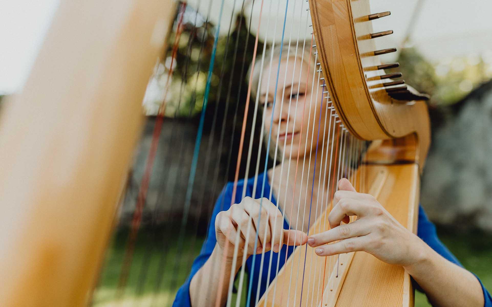 Petra Mallin | Harfenistin für eure Hochzeit