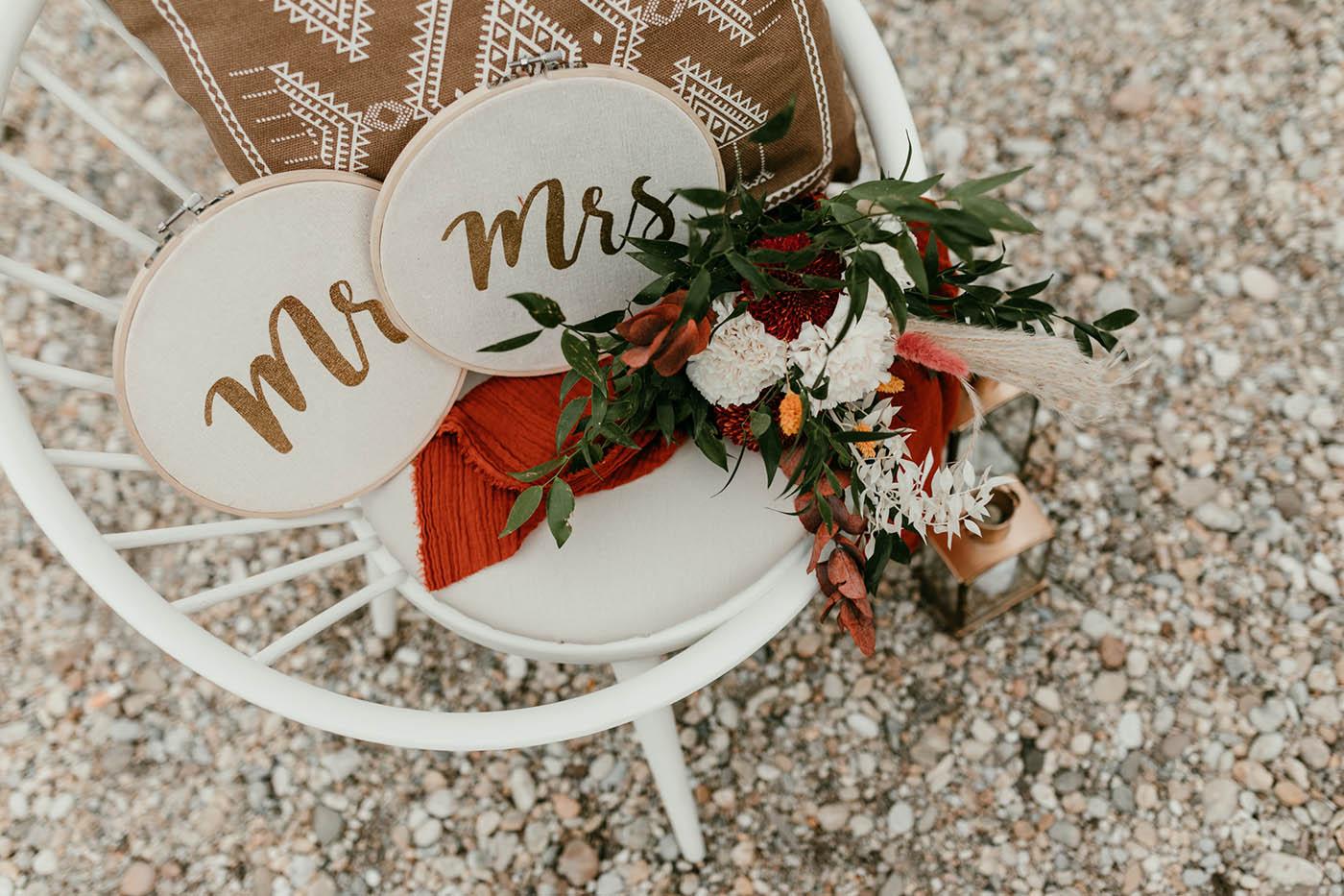 Hochzeitsdekoration aus Niederösterreich