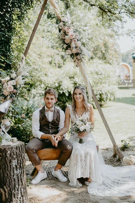 Corona Hochzeit in Niederösterreich