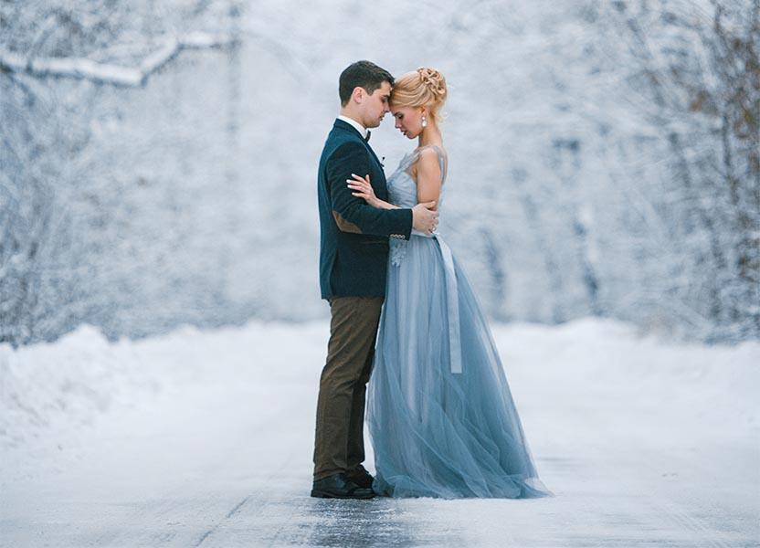 Heiraten im Winter –Acht gute Gründe