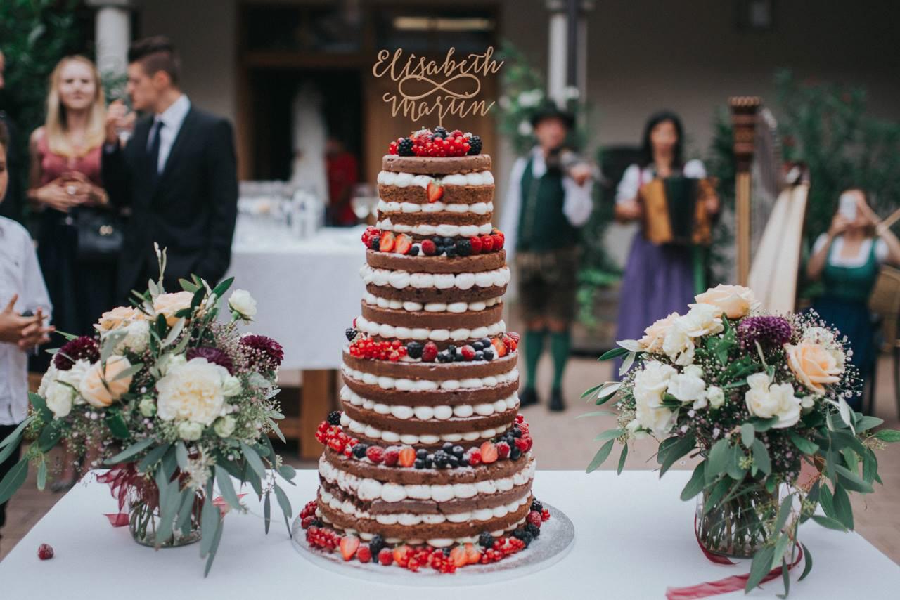 Goldmarie Cake Topper