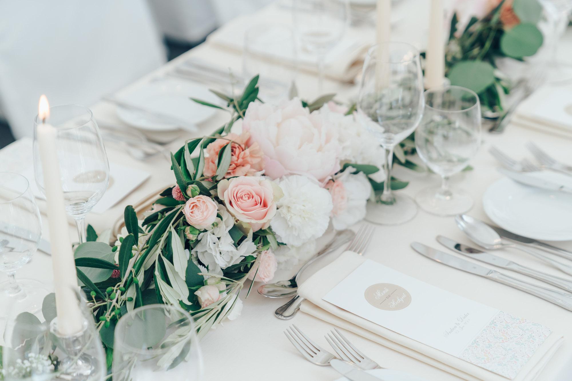 Hochzeitsfloristik von Floris & Fleur