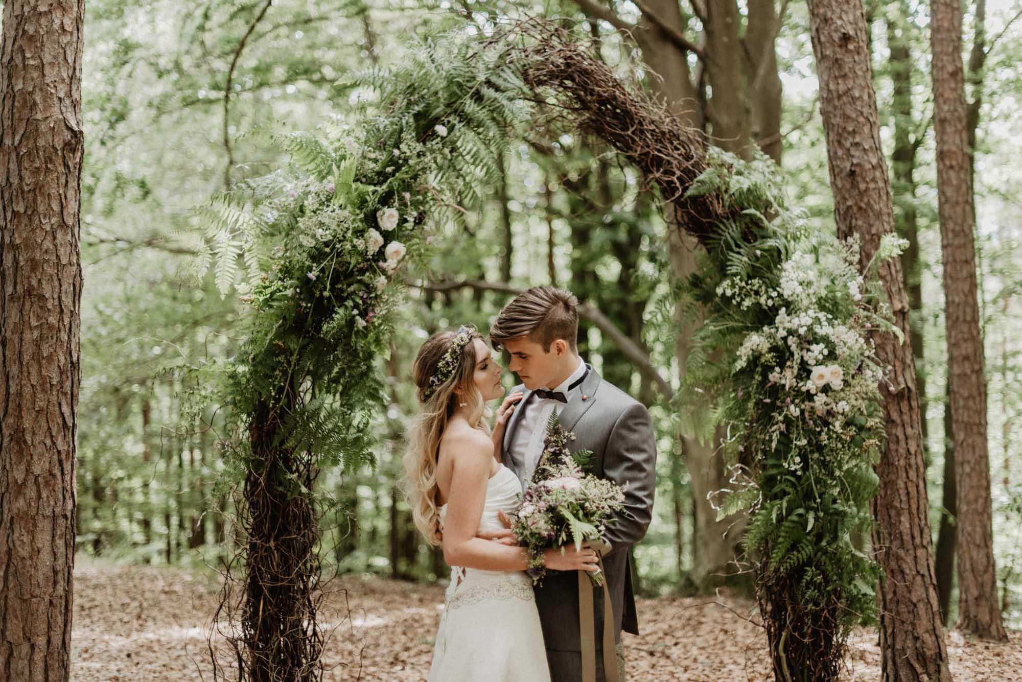 Hochzeitsfloristik von blütenreich