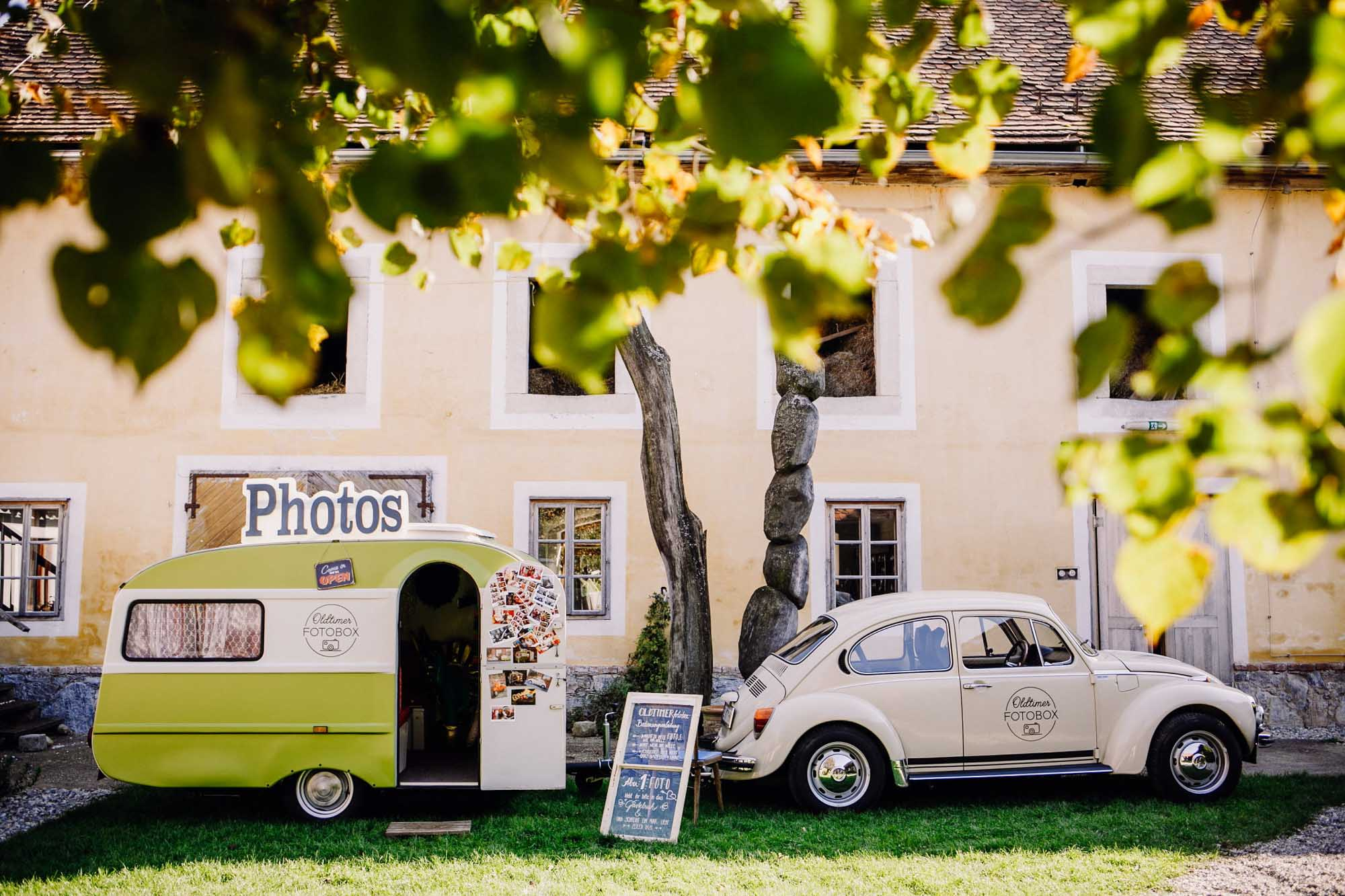 Die Oldtimerfotobox – Entertainment für eure Hochzeit