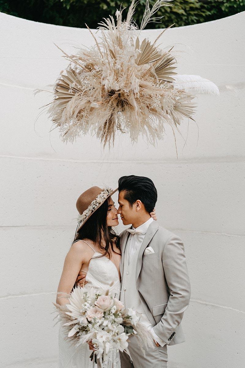 Hochzeitsfloristik | Blickfang Tropp