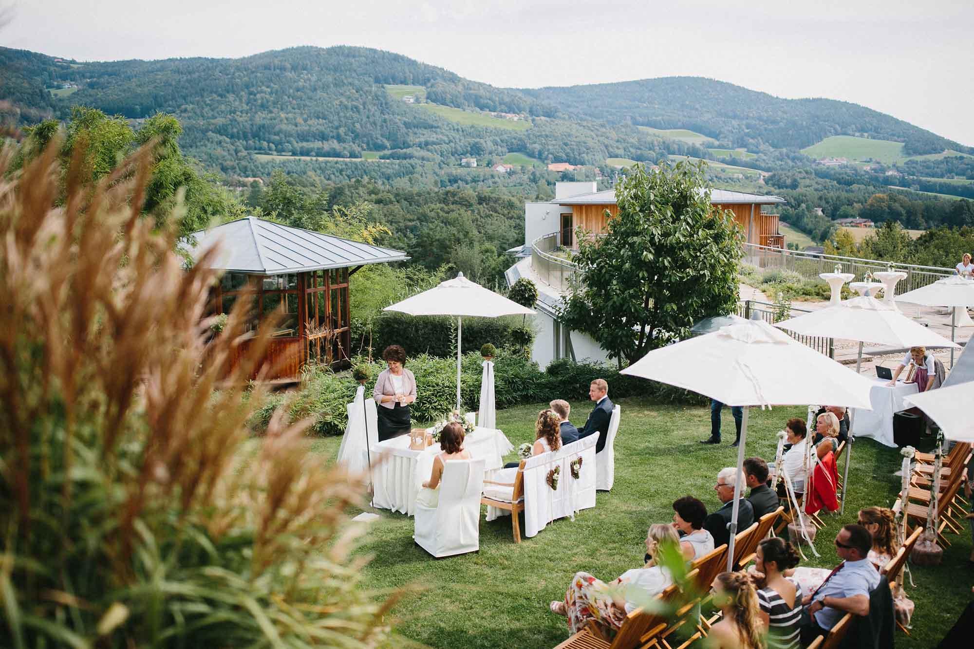 """Hochzeitslocation """"RETTER Bio-Natur-Resort"""""""