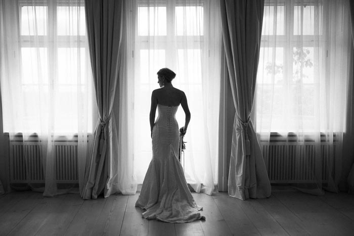 Black is Beautiful – minimalistisch-elegante Hochzeit