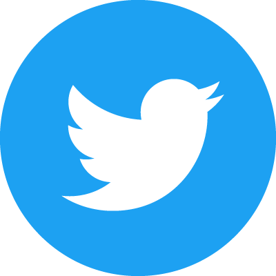 Twitter icon blue