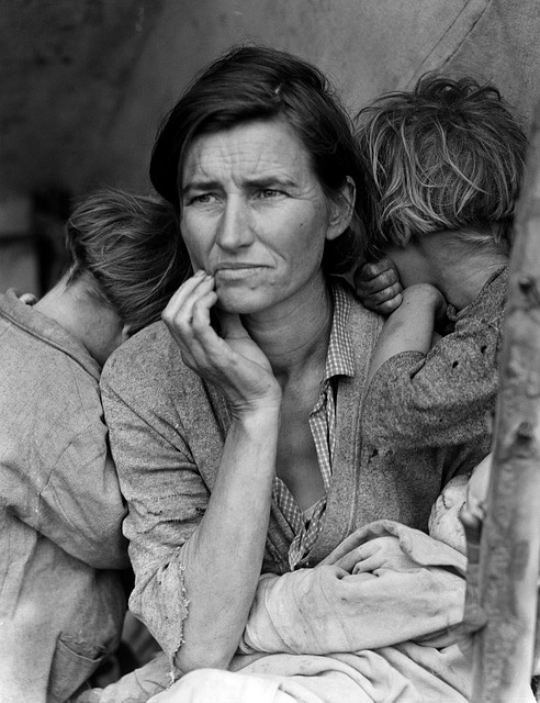 The Great Depression fasting.