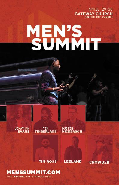 Men's Summit 2021 Flyer