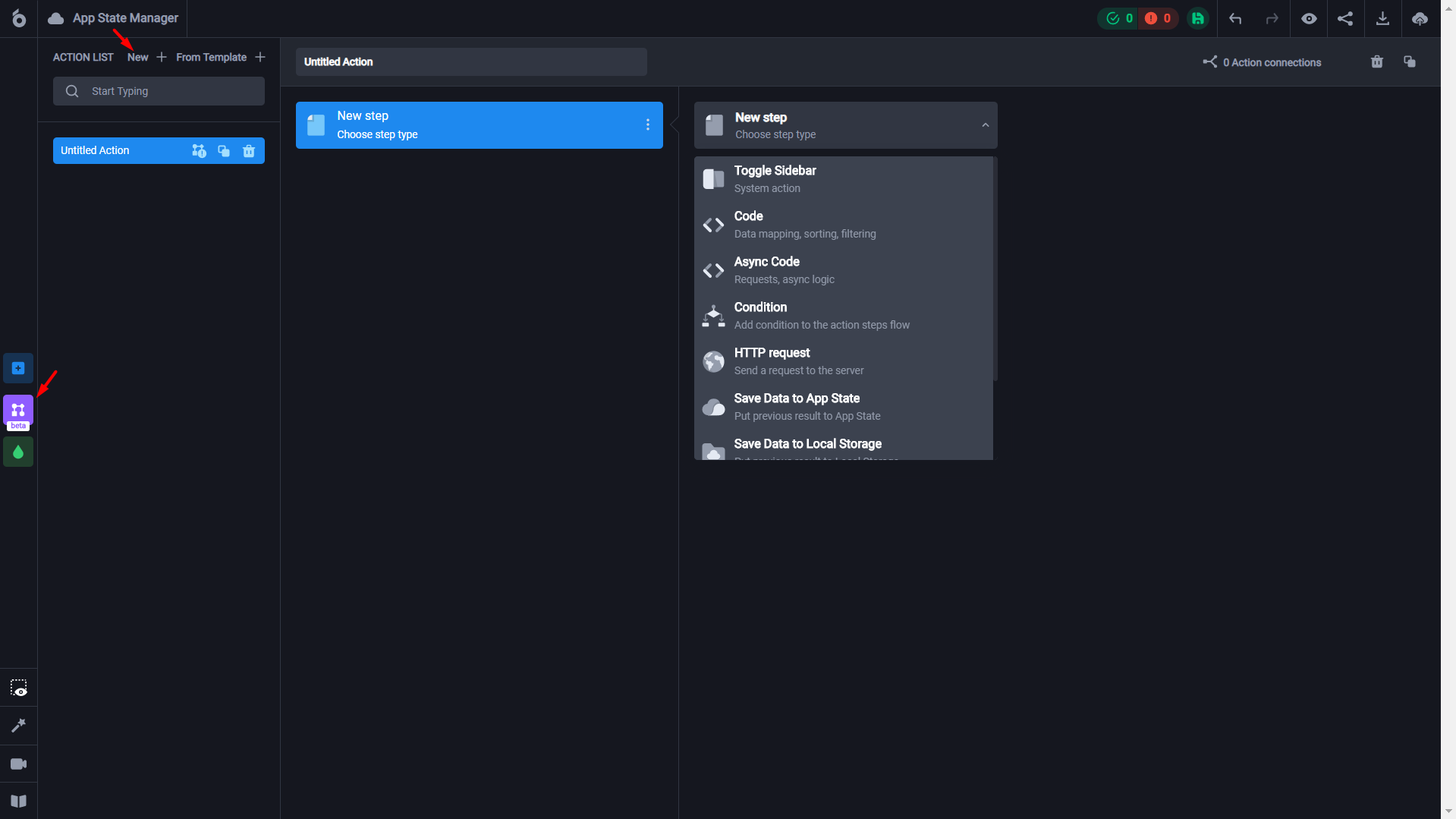 How to create a dashboard and connect it to Airtable using the UI Bakery visual web app creator