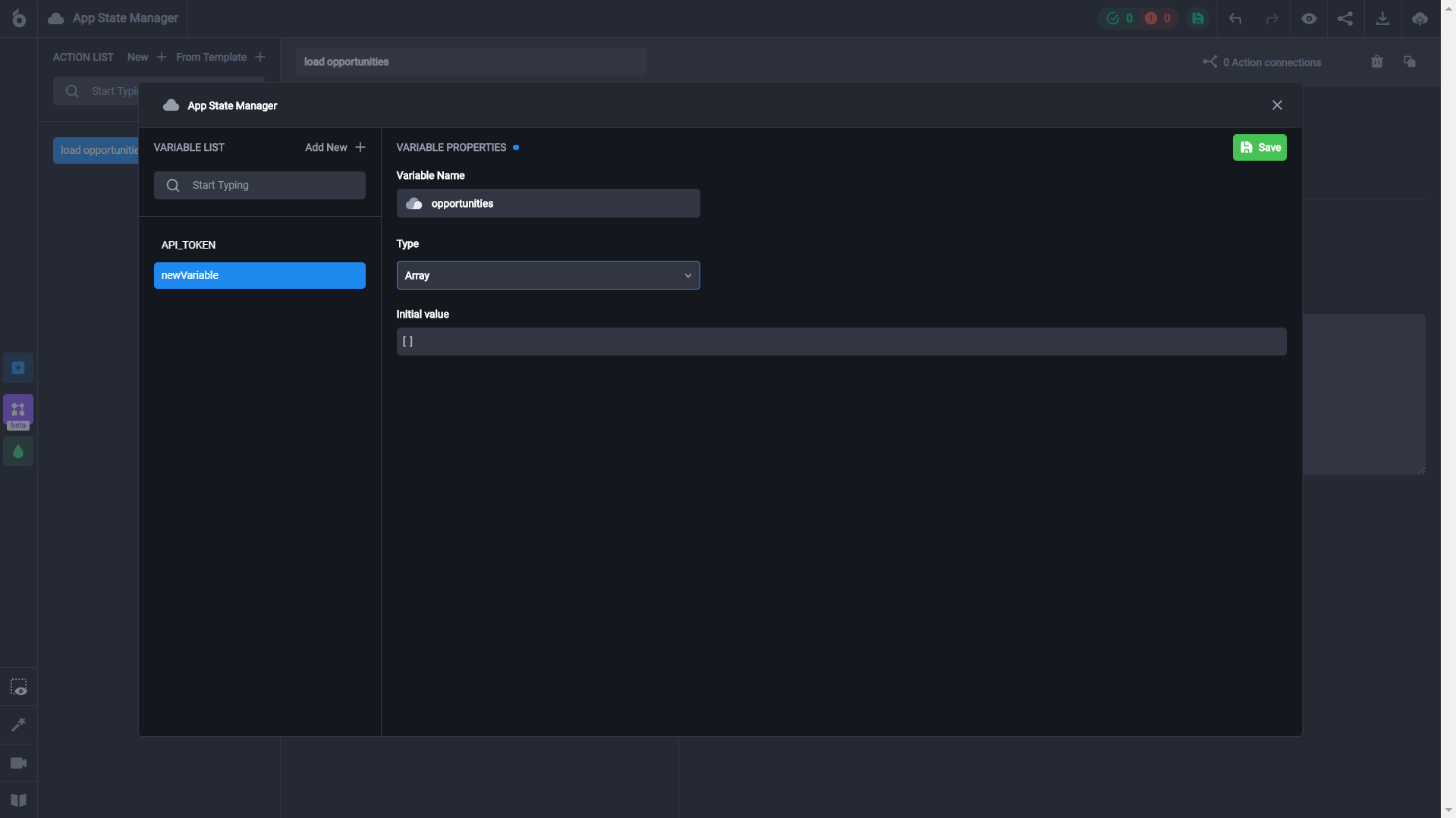 How to create a dashboard and connect it to Airtable in the UI Bakery web app development platform without coding
