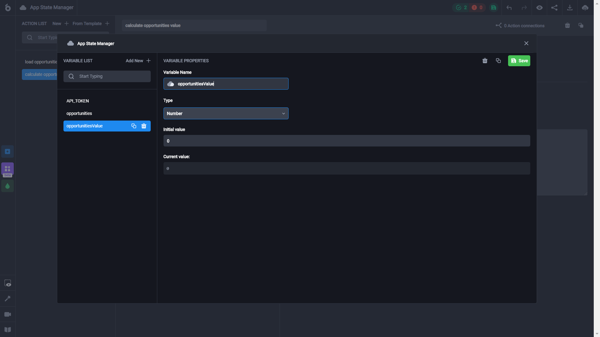 How-to guide on building a dashboard connected to Airtable without coding using the UI Bakery web app builder